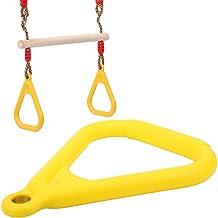 Outdoor indoor gele pull-up ring, kinderen pull-up ring, voor sportscholen, sportlocaties familie pull-ups en andere geleg...