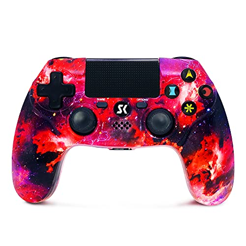 Controller for PS4 Wireless Controller Double Shock für Playstation 4 / Pro / Slim (Galaxy)