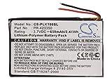 CS-PLK100SL Batería 650mAh Compatible con [PLANTRONICS] K100, para [Sony] MDR-DS6500, MDR-RF985R, MDR-XB950B1, MDR-XB950BT sustituye 1-756-920-21, para 1-756-920-31, para LIS1427HEPCC, para LIS1427NH