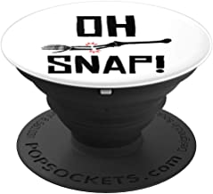 Funny Broken Bone Xray Tech Orthopedic Surgeon Doctor Gift PopSockets Grip and Stand for Phones and Tablets