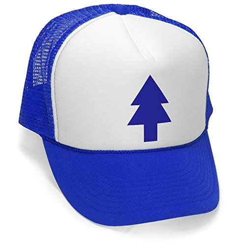 Dipper Pines - Foam and Mesh Trucker Hat Royal Blue