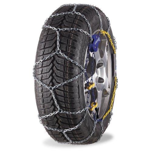 Michelin 89806 Cadena de nieve M1 Extrem Grip 69, compatible con ABS y ESP, TÜV/GS y ÖNORM, 2 piezas