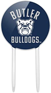 Butler University Official Bulldogs Acrylic Cake Topper Party Decoration for Wedding Anniversary Birthday Graduation