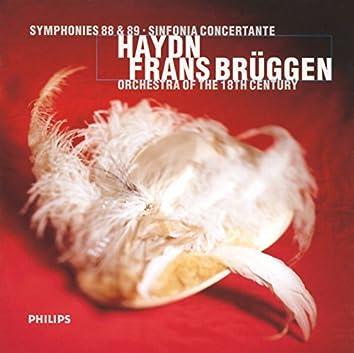 Haydn: Symphonies Nos. 88 & 89; Sinfonia Concertante In B Flat Major