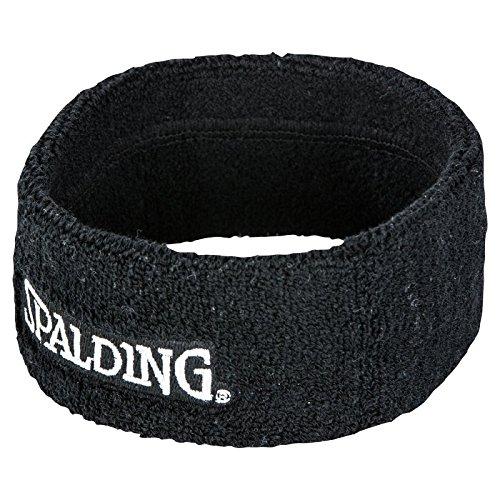Spalding 300500701 Bandeau Mixte Adulte, Noir, Taille Unique