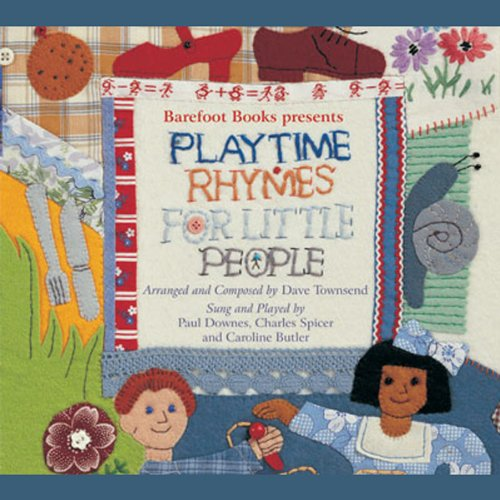 Playtime Rhymes for Little People audiobook cover art