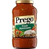 Prego Pasta Sauce, Italian Tomato Sauce with Mushrooms, 24 Ounce Jar