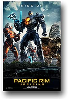 Pacific Rim Uprising Movie Silk Poster Wall Art Print 12x18 inch