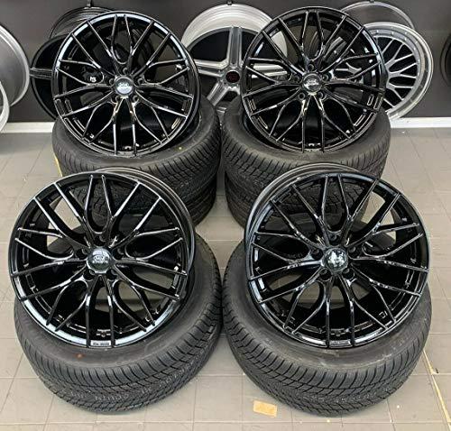 4 x 19 Zoll MM-CONCEPTS MM01 Alu Felgen 8,5x19 5x112 ET45 schwarz Glanz glänzend für A Klasse B C63 Coupe Cabrio T-Modell 45 AMG CLA Shooting Brake E GLA GLE GLK M R S V Vito NEU