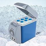 YUQIYU 12V 7.5L MINI Refrigerador Coche portátil Más frío...
