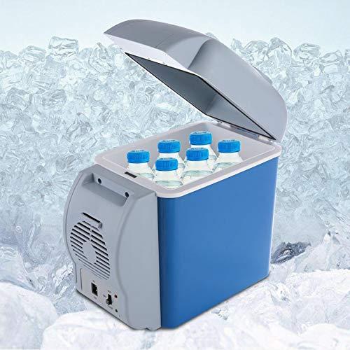 CENPEN 12V 7.5L Mini Refrigerador Coche portátil Más frío Calentador Congelador Inicio Camping Viaje Frigorífico Caja de enfriamiento Fruta Fruta Frigorífico