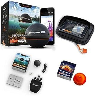 Deeper Smart Sonar Pro + Plus Set WiFi + GPS + Night Fishing Cover + Case