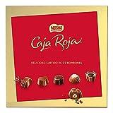 Nestlé Caja Roja Surtido de bombones de chocolate con leche, ne grro y blanco - Estuche de bombones...