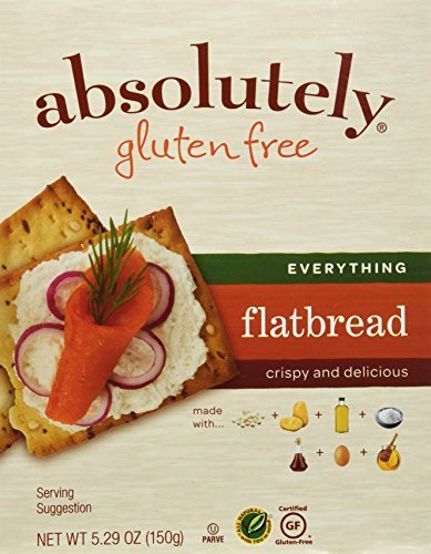 Atlanta Mall Absolutely Ranking TOP11 Gluten Free Everything 3-Pack 5.29-Ounce Flatbread