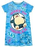 Pokemon Mädchen Snorlax Nachthemden Leuchten Im Dunkeln Mehrfarbig 122