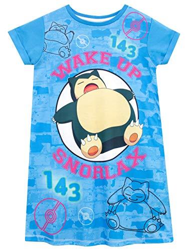 Pokemon Mädchen Snorlax Nachthemden Leuchten Im Dunkeln Mehrfarbig 146