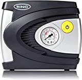 RING Mini compresseur d'air portable 12v gonfleur pneu