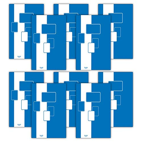 Notizblock / Briefblock A4, kariert, 50 Blatt Bantex Budget, 10 Stück Packung 400116671