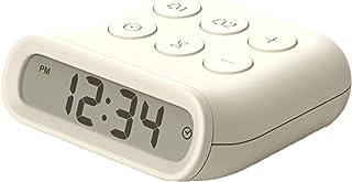 Digital väckarklocka Liten LED Digital med snooze, Lätt att ställa in, Ljusdämpare i full räckvidd, Justerbar alarmvolym m...
