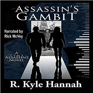 Assassin's Gambit audiobook cover art