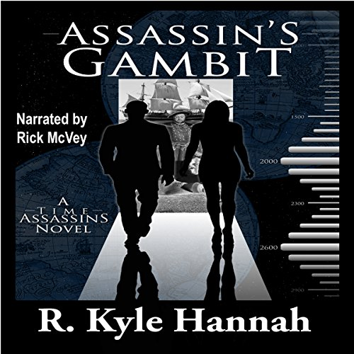 Assassin's Gambit audiobook cover art