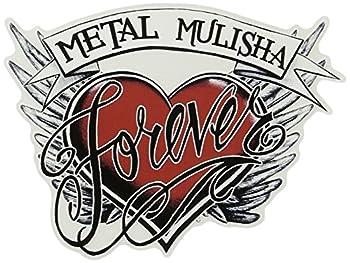 Metal Mulisha Juniors Forever 25 Pack Sticker Black Winter White/Red One Size