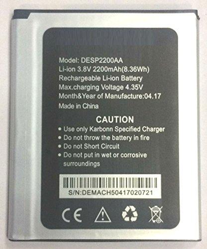 DOOR OF FASHION Battery Compatible For Karbonn Titanium Machfive DESP2200AA 2200mAh
