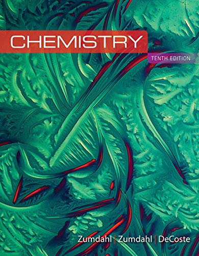 Compare Textbook Prices for Study Guide for Zumdahl/Zumdahl/DeCoste's Chemistry 10 Edition ISBN 9781305957473 by Zumdahl, Steven S.,Zumdahl, Susan A.,DeCoste, Donald J.