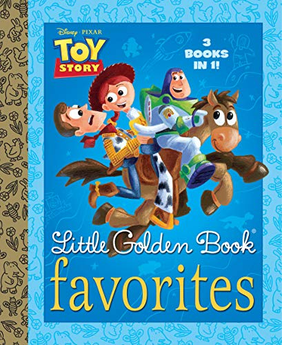 Toy Story Little Golden Book Favorites (Disney/Pixar Toy Story)
