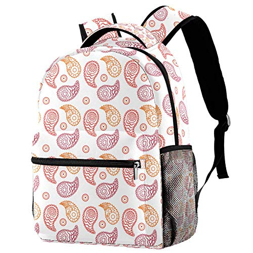 Beautiful Illustration Personalised School Bag for Boys and Girls - Kids School Backpack - Childrens rucksacks for Boys and Girls