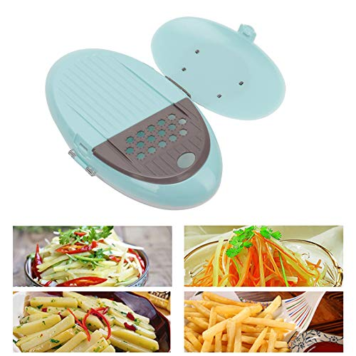 Picadora de frutas, con 5 cuchillas de corte, picadora de verduras, utensilios de cocina para restaurante en casa