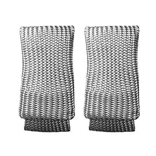 2 guantes de soldadura, protectores térmicos, para soldar, guantes de soldadura, guantes de soldadura, protección contra el calor, equipo para soldadura, tamaño XL