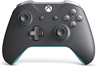 Xbox Wireless Controller - Grey and Blue (Renewed)