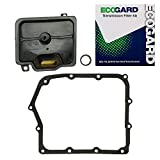 ECOGARD XT10333 Premium Professional Automatic Transmission Filter Kit Fits Chrysler Town & Country 3.6L 2011-2015, Town & Country 3.8L 2008-2010, 200 3.6L 2011-2014, Sebring 2.4L 2007-2010