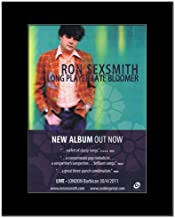 Music Ad World Ron SEXSMITH - Long Player Late Bloomer Mini Poster - 28.5x21cm
