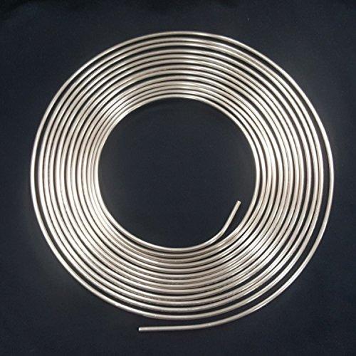 10m Bremsleitung Ø 4,75 mm Kupfer-Nickel Kunifer mit Allgemeiner Betriebserlaubnis ABE Bremsrohr Zubehör-Austausch-Bremsleitungen DIN 74 234 konform nur noch biegen und bördeln