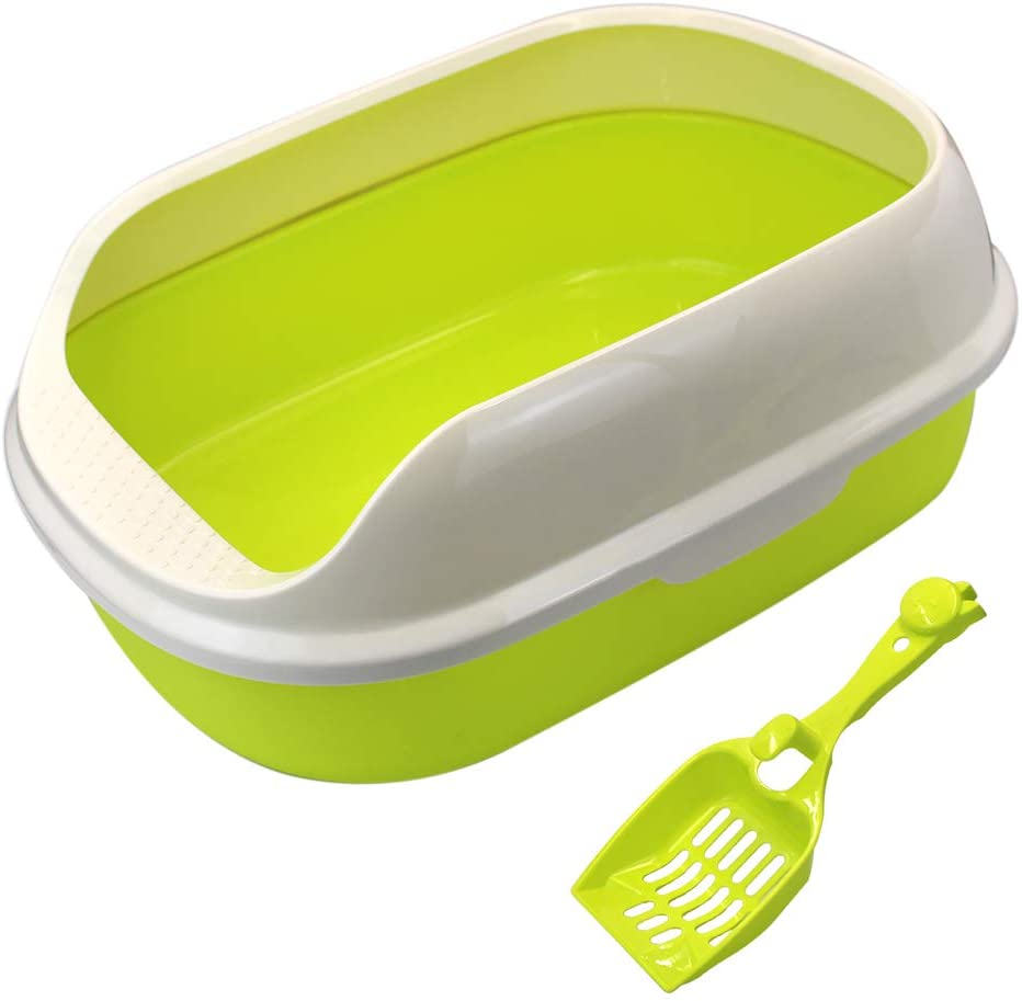 Limited time for free shipping MoMaek Open top Cat Litter Box Offer to Designed is Cats Plenty Department store