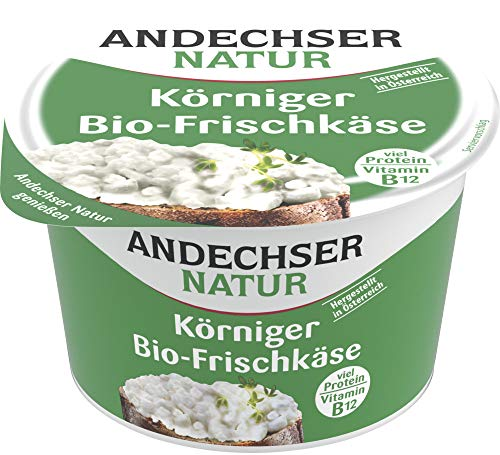 Andechser Natur Bio Andechser Natur körniger Bio Frischkäse 20% (6 x 200 gr)