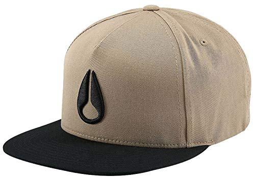NIXON Simon Snapback Hat Khaki/Black One Size