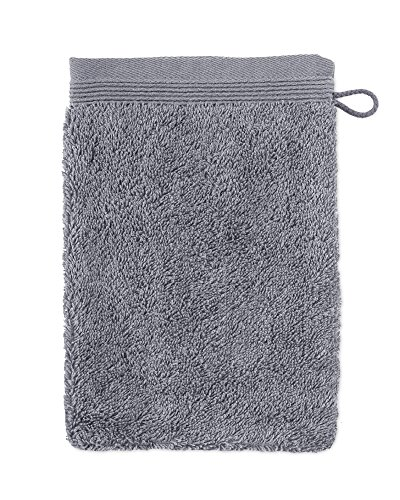 möve Superwuschel gant de lavage, Stone, 15 x 20 cm