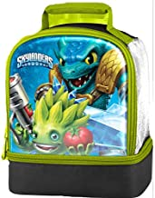Skylanders Trap Team Licensed Dual Compartment Lunch Kit - 100% PVC Free with Peva Linings
