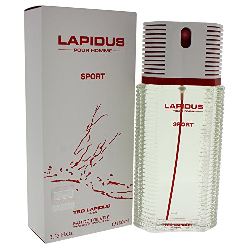 Ted Lapidus Pour Homme Sport Spray for Men, 3.33 Ounce