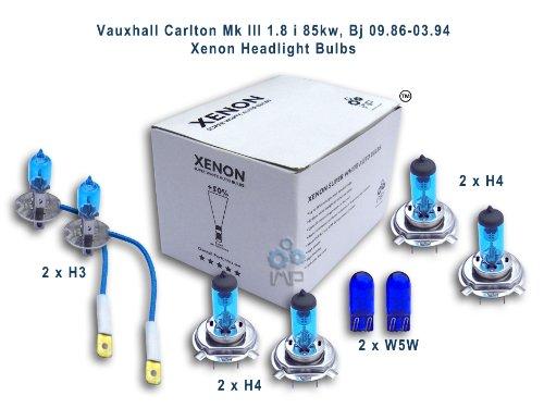 Effetto Xenon auto fari lampadine H3H4H4W5W, pezzi