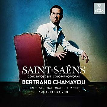 Saint-Saëns: Piano Concertos Nos 2, 5 & Piano Works