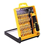 Precision Screwdriver Set Magnetic, Greyghost 33 in 1 Mini Screwdriver Bit Set with Case, Portable Repair Tool Kit for Electronics, Watch, Glasses, Camera, Jewelers