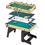Kangui Table Multi Jeux Pliable 4 en 1 Adulte