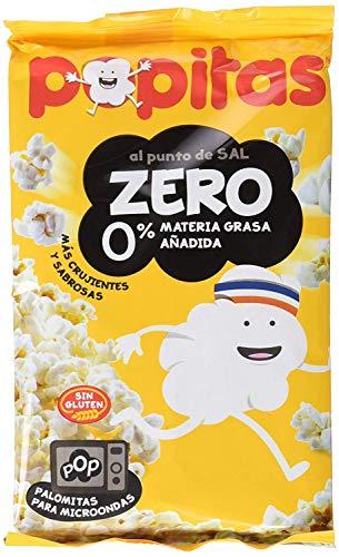 Popitas - Palomitas Zero Al Punto de Sal. 5 Bolsas de 70 g