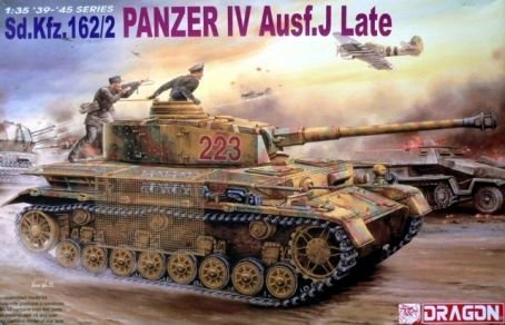 Dragon Sd.Kfz.162/2 Panzer IV Ausf.J Late 1:35 Scale Military Model Kit