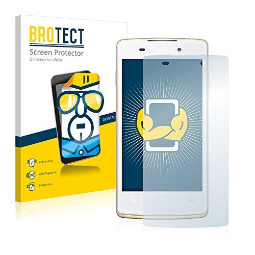 BROTECT Schutzfolie kompatibel mit Oppo Joy Plus (2 Stück) klare Bildschirmschutz-Folie
