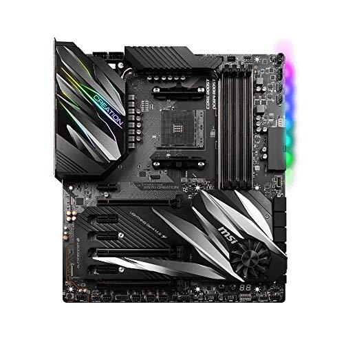 MSI PRESTIGE X570 CREATION AMD AM4 DDR4 SLI/CF M.2 USB 3.2 Gen 2 Wi-Fi 6 E-ATX Motherboard